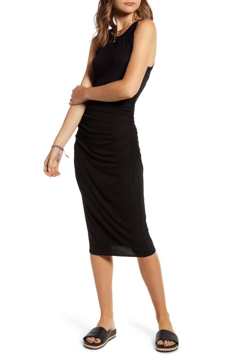 33 Noteworthy Summer Dresses That Are Also Perfect For Fall Fashion Clothes Women Casual Work Dresses Tank Dress [ 1196 x 780 Pixel ]