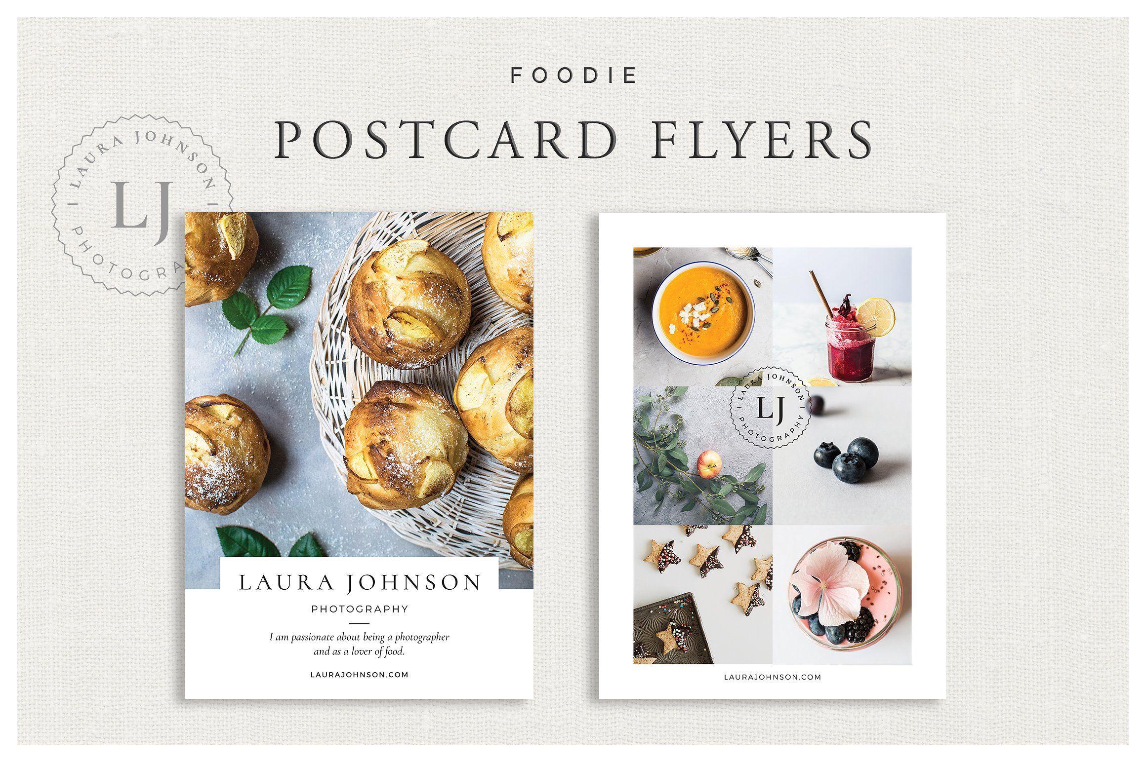 Foopostcard Flyers Box Design Studio On