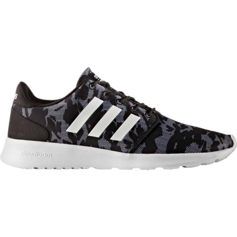 31e796651d5 adidas Neo Women s Cloudfoam QT Racer Print Shoes
