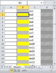 How To Highlight Every Second Row Excel Tutorials Excel Shortcuts Excel Spreadsheets