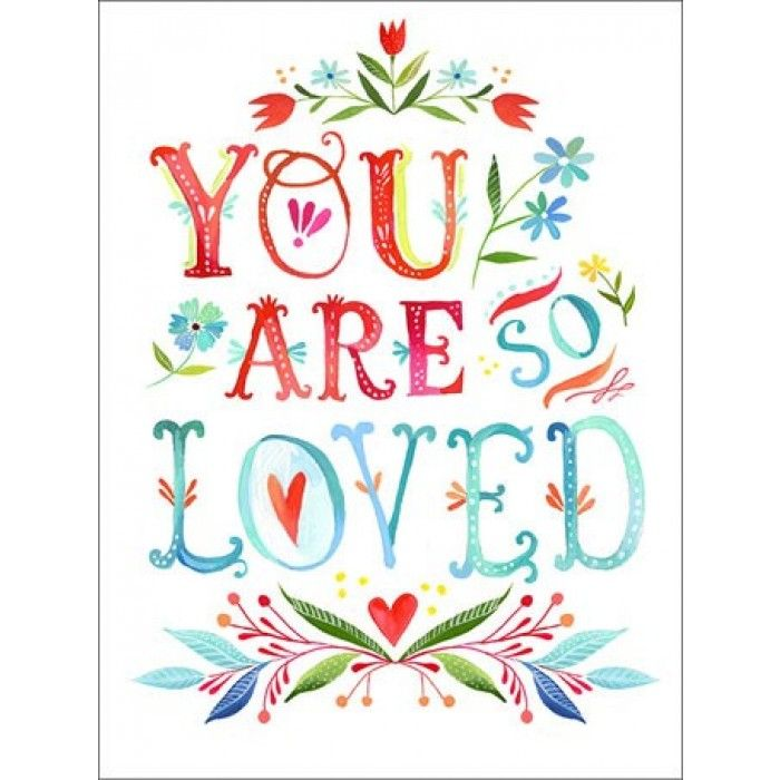 You Are So Loved Wall Decal made by Wheatpaste | babycubby.com
