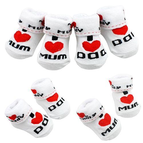 Infant White Socks Baby Cotton Socks Baby Socks Unisex Baby Socks