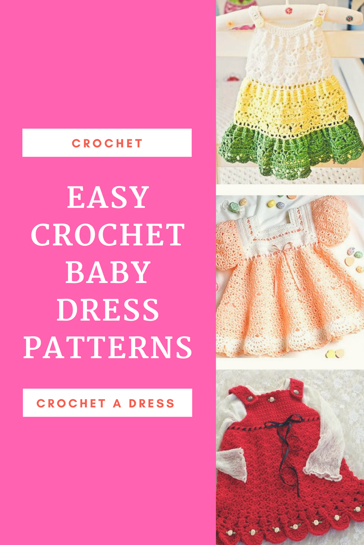Best Crochet Dress Pattern for Baby - Free Crochet Baby Dress ...