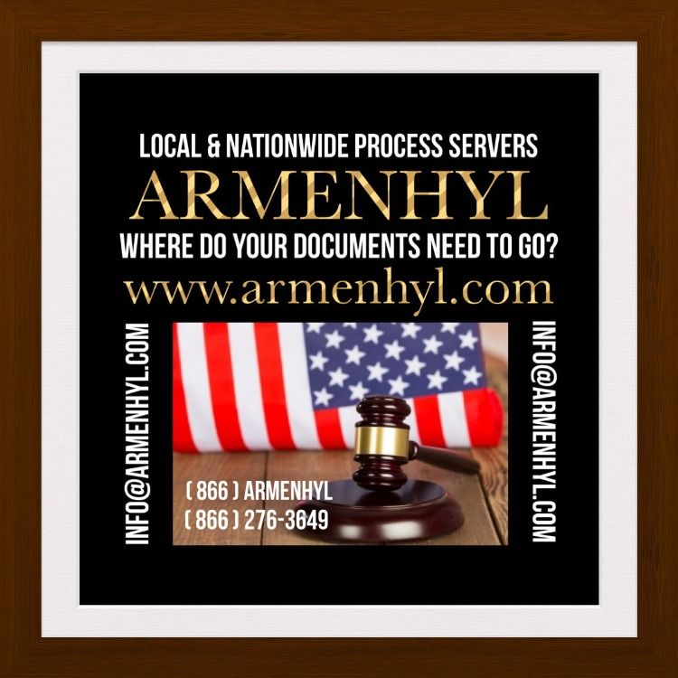 ARMENHYL Brooklyn NY Local & Nationwide Process Servers