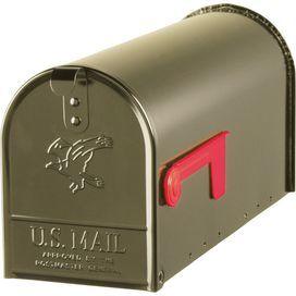 Premium Steel Mailbox In Bronze Kutular