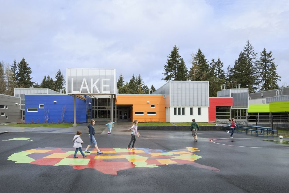 Federal Way Elementary Schools programme - Pictures - panther lake