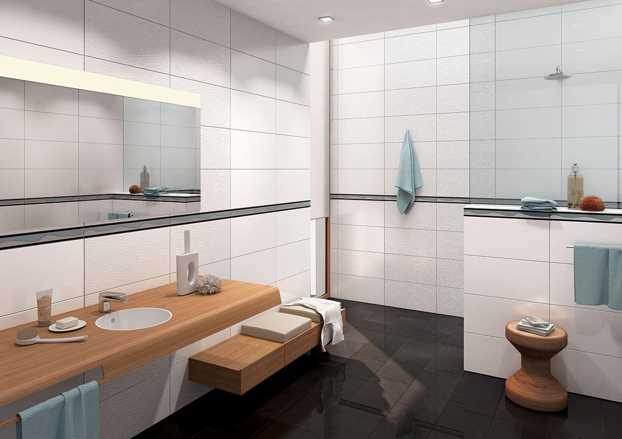 badezimmer fliesen 30 x 60 | badezimmer kreativ gestalten | Bathroom ...