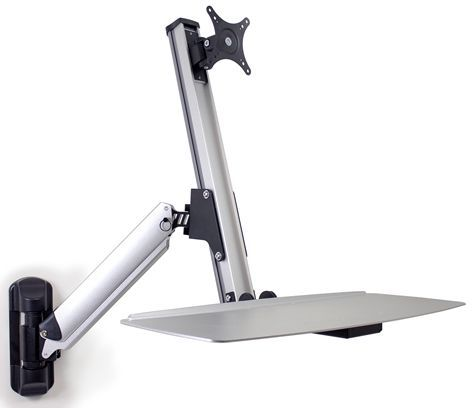 Ergotron LX Sit Stand Wall Mount Keyboard Arm