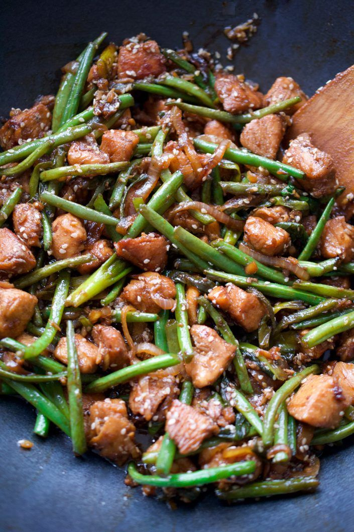 Photo of Simple Green Bean, Chicken & Ginger Stir Fry | Every Last Bite