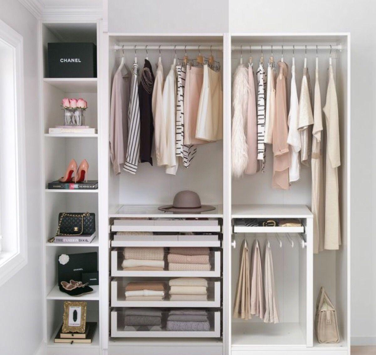 Pin By Dorothea On W A R D R O B E In 2020 Bedroom Closet Design Dressing Room Closet Closet Decor