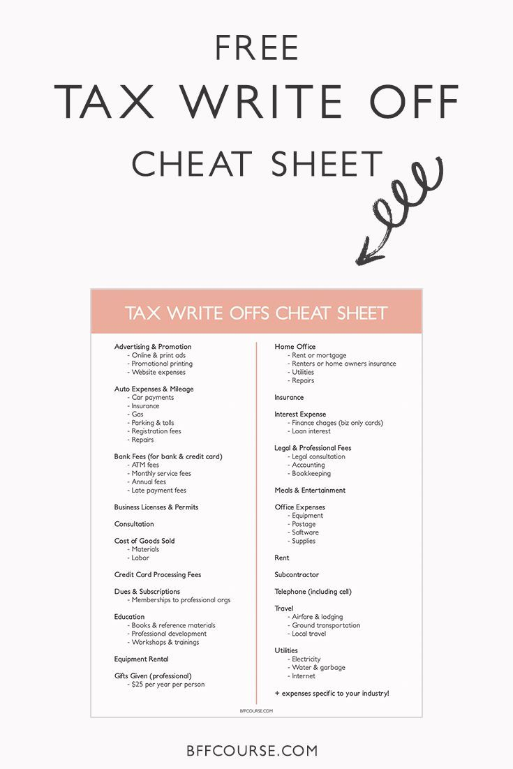 7 Insanely Awesome Write-Offs that Solopreneurs Need to Know   Tax ...