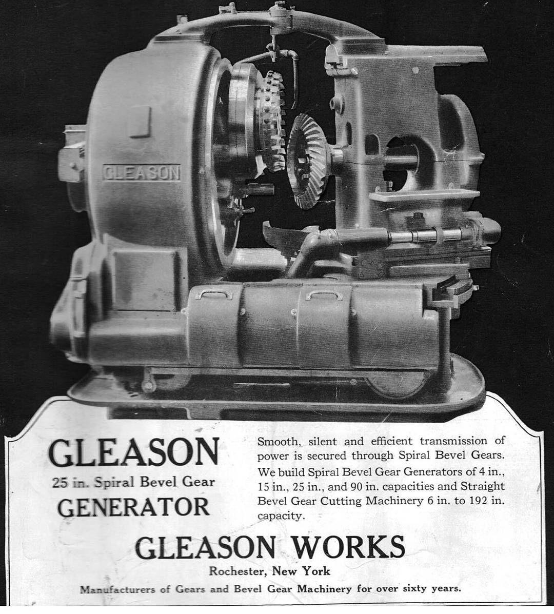 Gleason 25 inch spiral bevel gear generator or cutter