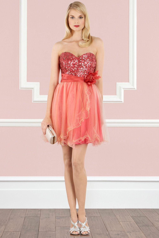 Flannel homecoming dress  Folly Dress strapless dress by Coast  Womenus Fashion that I love