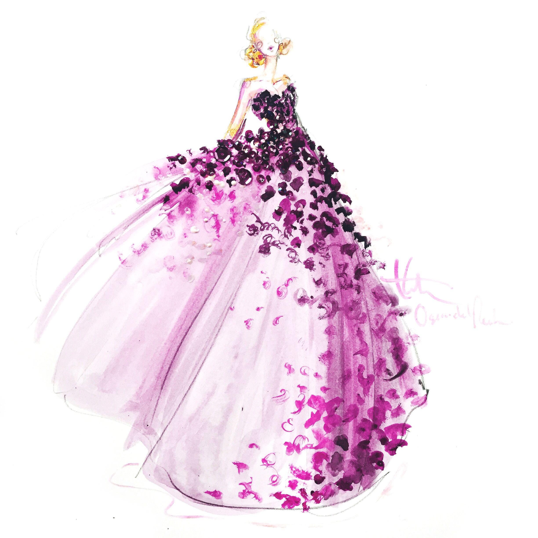 Oscar de la Renta FW15 on Moda Operandi … | Pinteres…