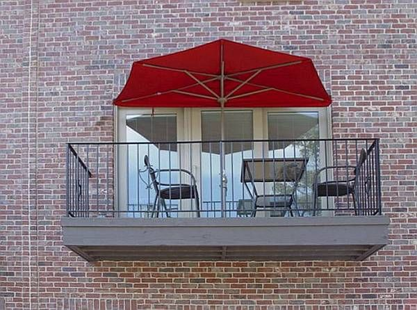 Small patios and balconies are often seen as one of the for Condo patio furniture for small spaces