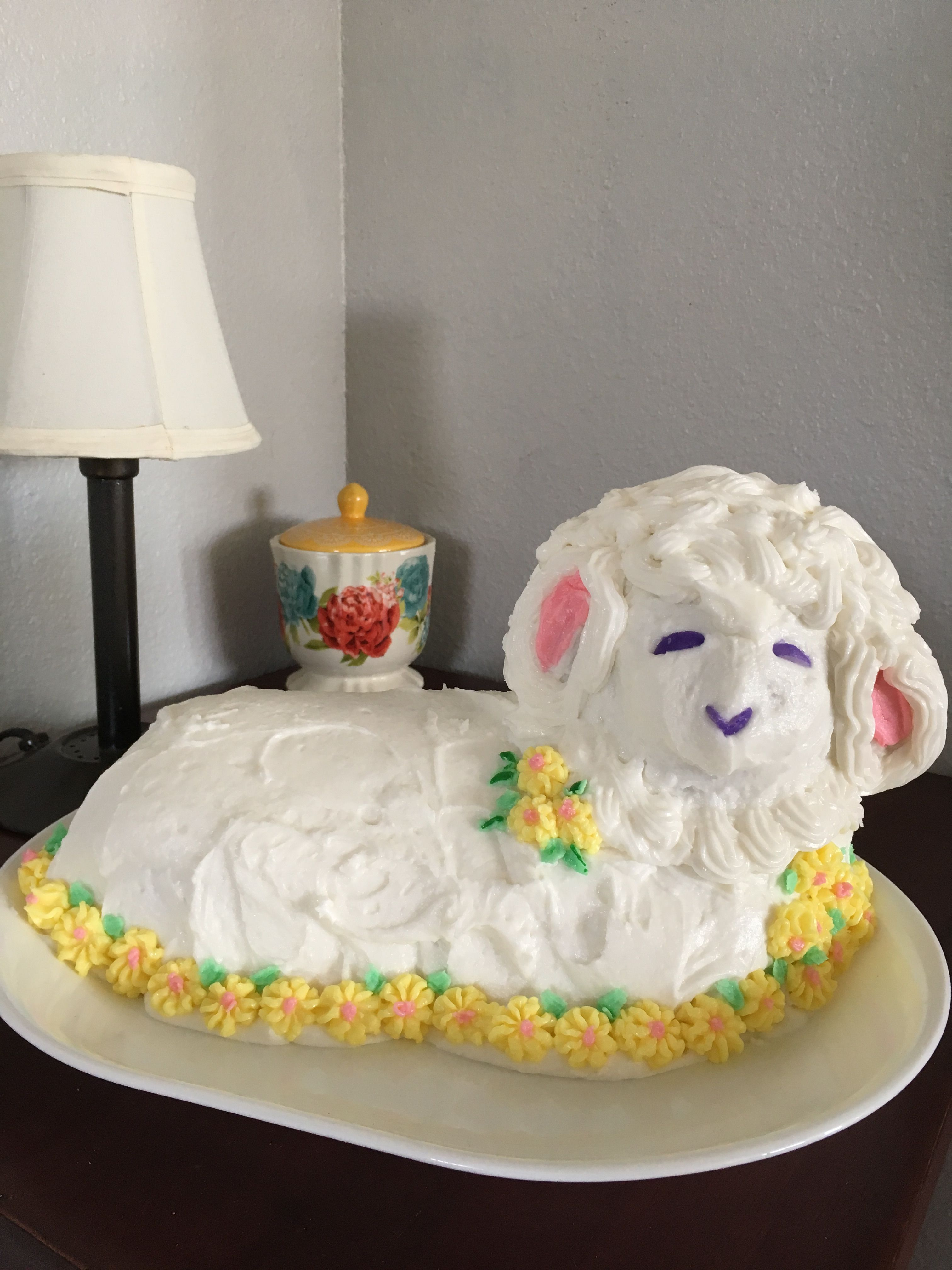 easter lamb cake nailed it
