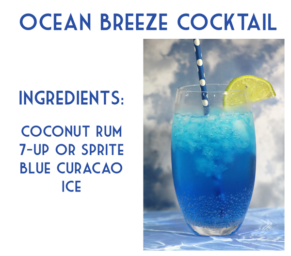 Ocean Breeze Cocktail Recipe Bargainbriana Recipe Fun Summer Drinks Mixed Drinks Alcohol Drinks Alcohol Recipes