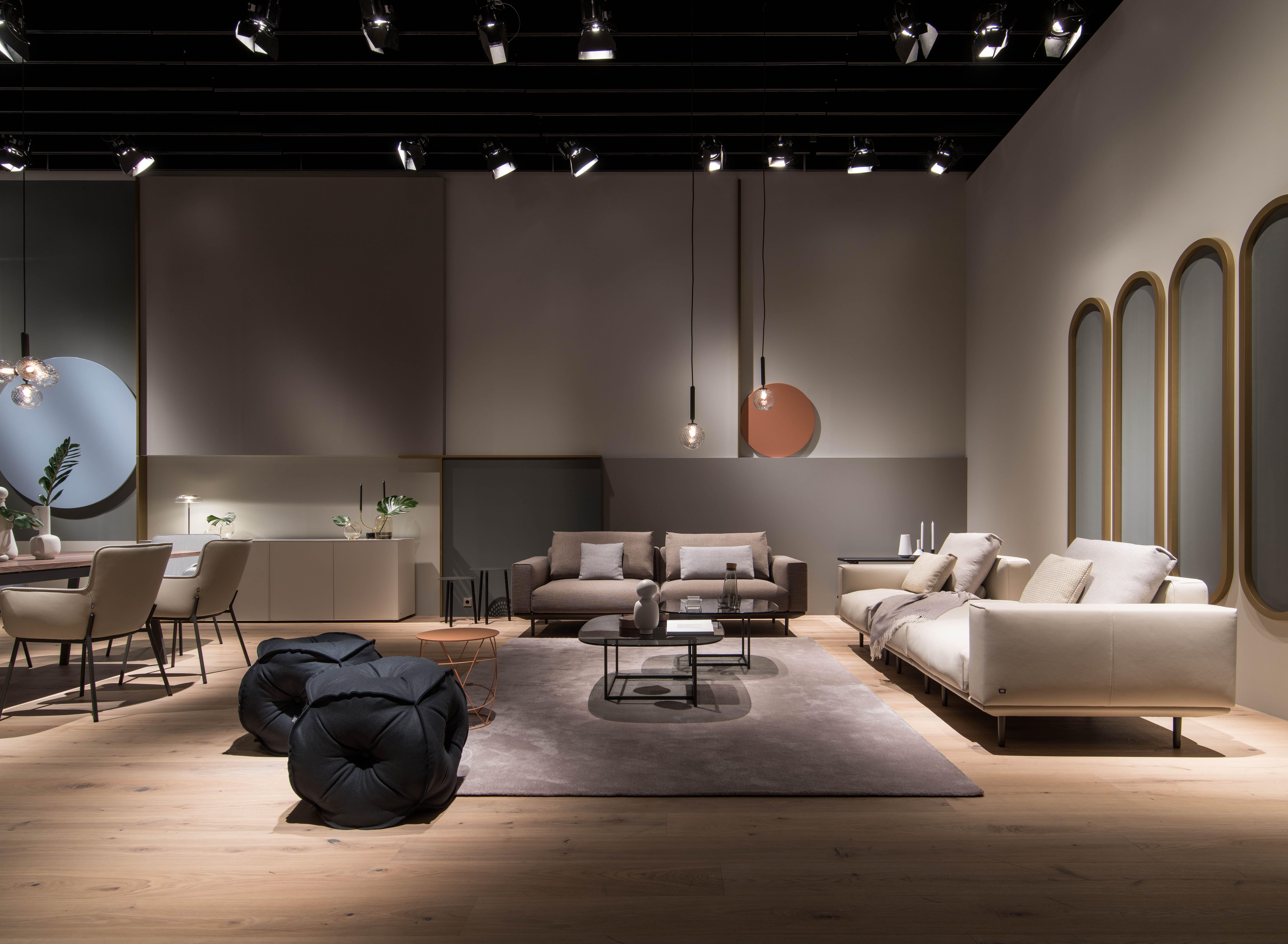 Rolf Benz Volo Chandelier In Living Room Colorful Furniture Living Room Living Room Sets Furniture