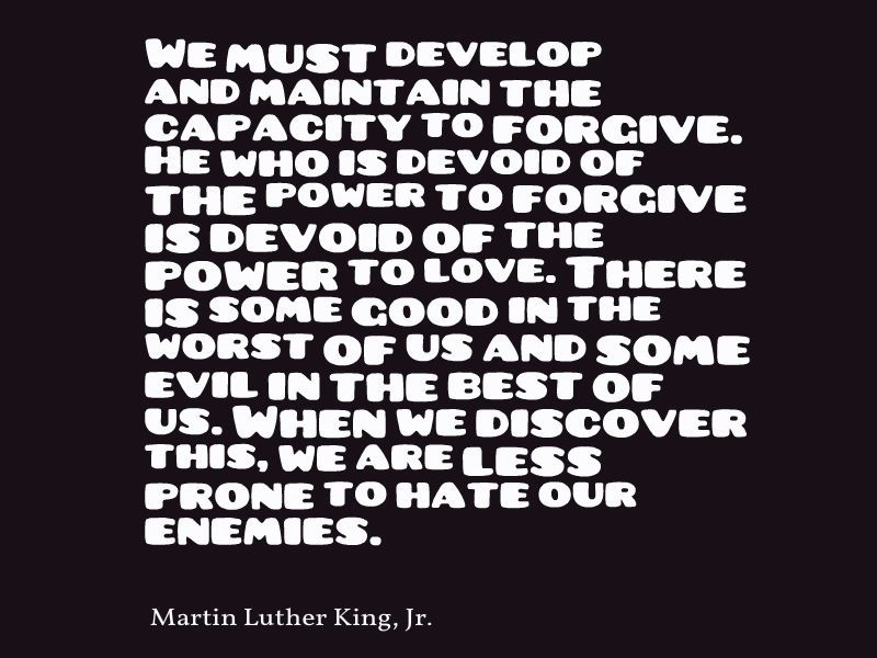 Martin Luther King Jr We Must Develop And Maintain The Capacity To