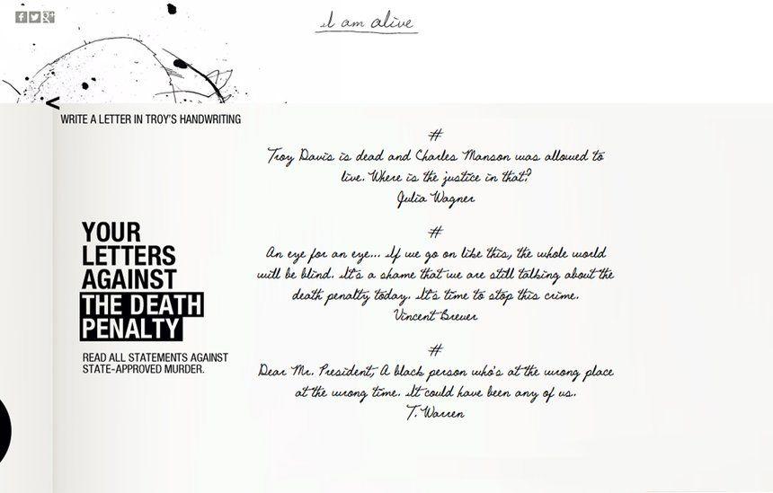Troy Davis – I Am Alive | Serviceplan Group