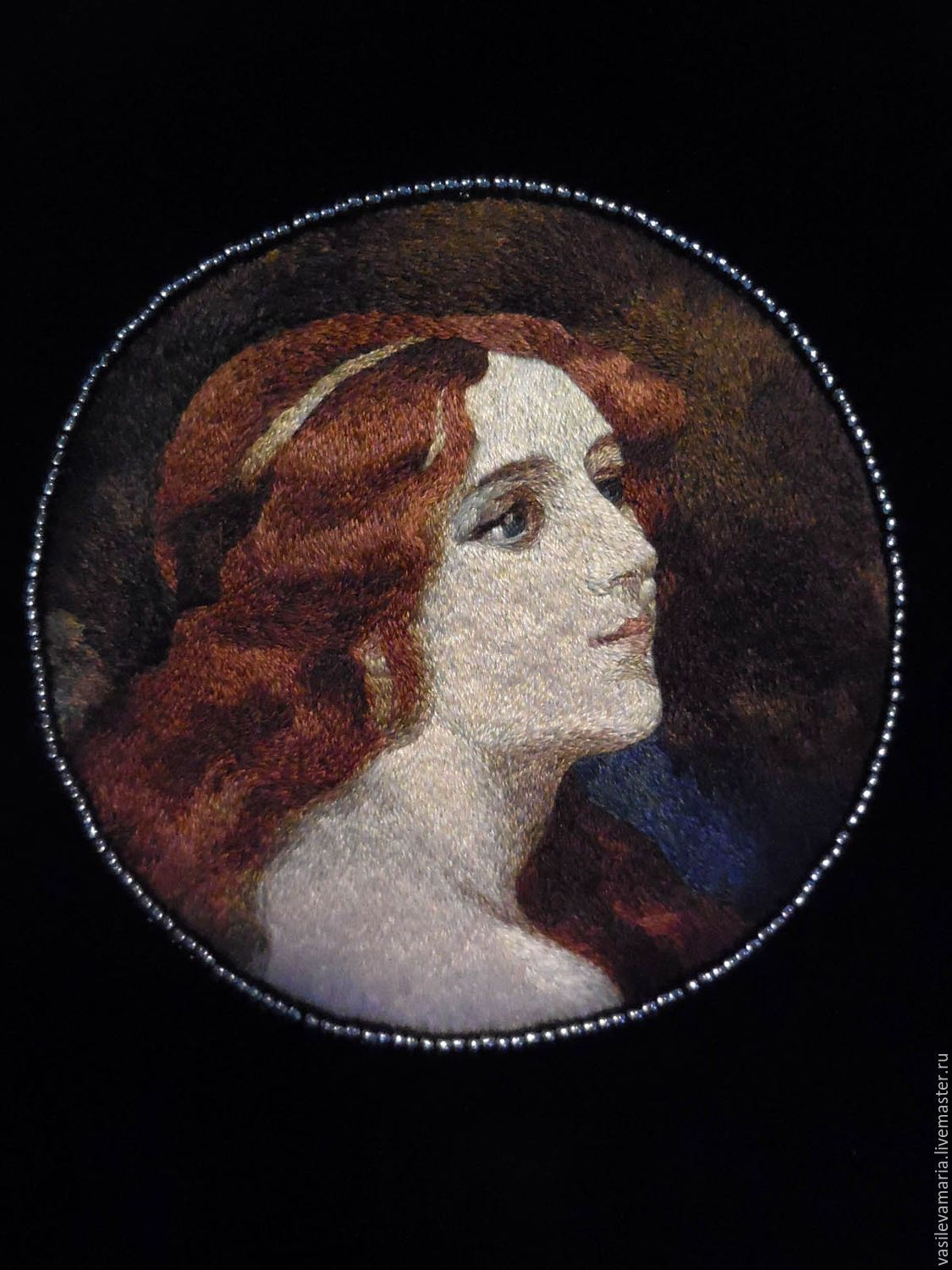 """""""A Young Beauty"""" - EmbroideryART (vasilevamaria) - Ярмарка Мастеров http://www.livemaster.ru/item/12302223-sumki-aksessuary-a-young-beauty"""