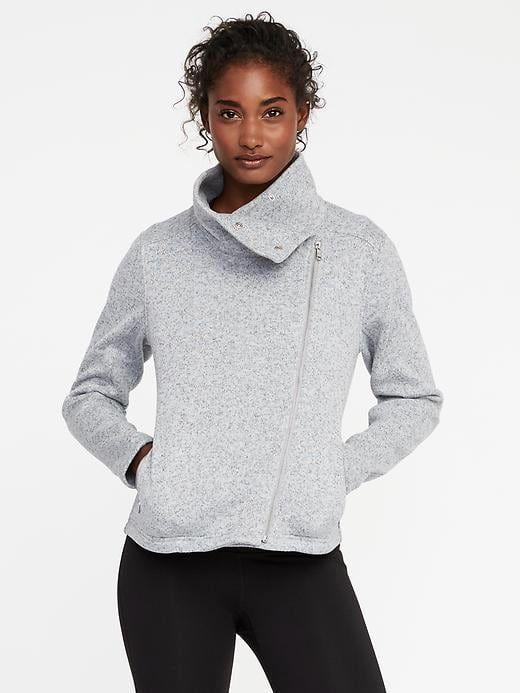 e3dc828068cdd7 Go-Warm Sweater-Knit Moto Jacket for Women | Old Navy | Capsule ...
