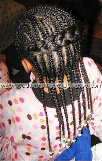 natural hair style, cornrows