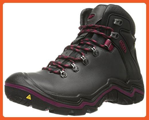 7a7ab2805042c KEEN Women's Liberty Ridge Outdoor Boot, Gargoyle/Beet Red, 8.5 M US ...