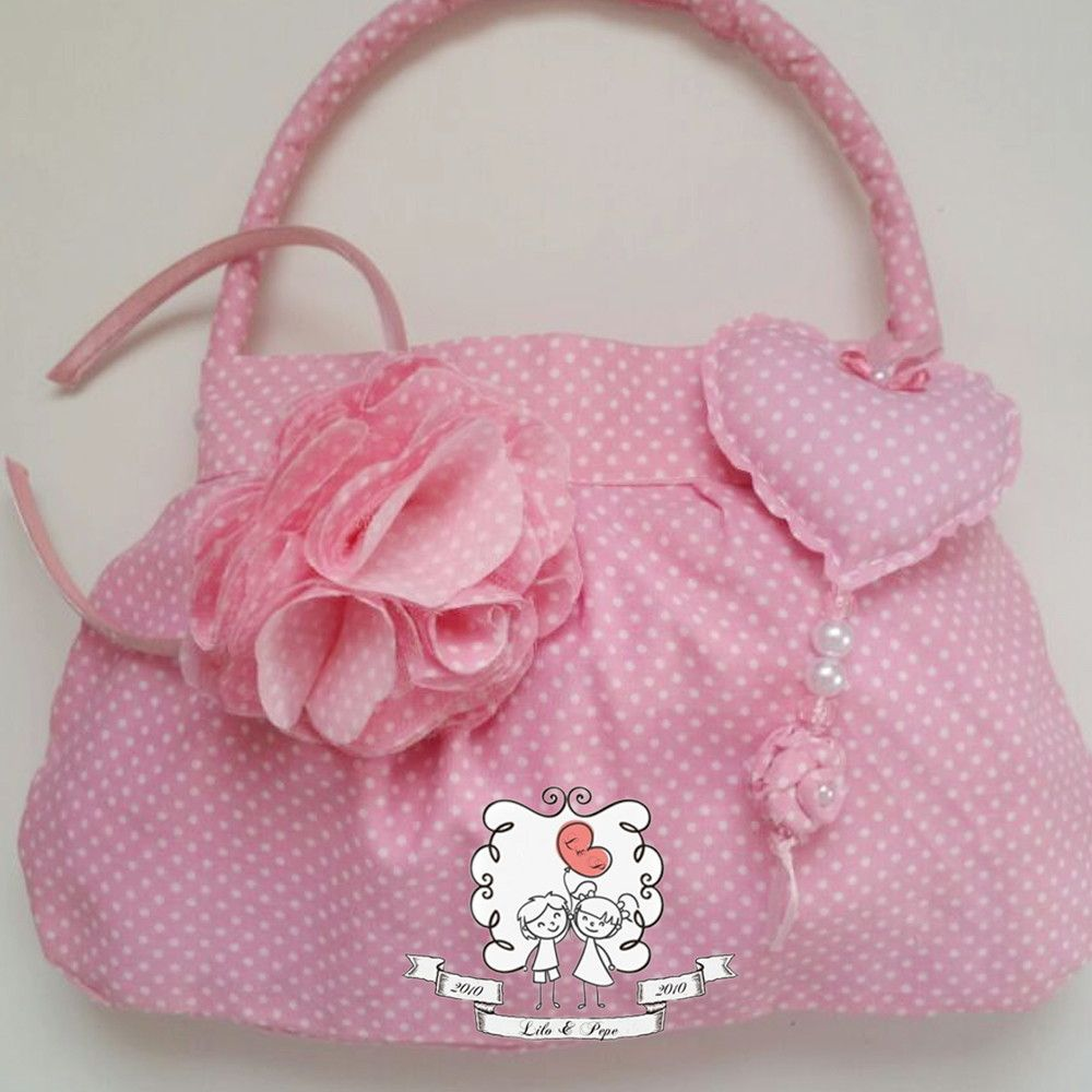 Bolsa De Tecido Para Notebook : Kit bolsa e tiara