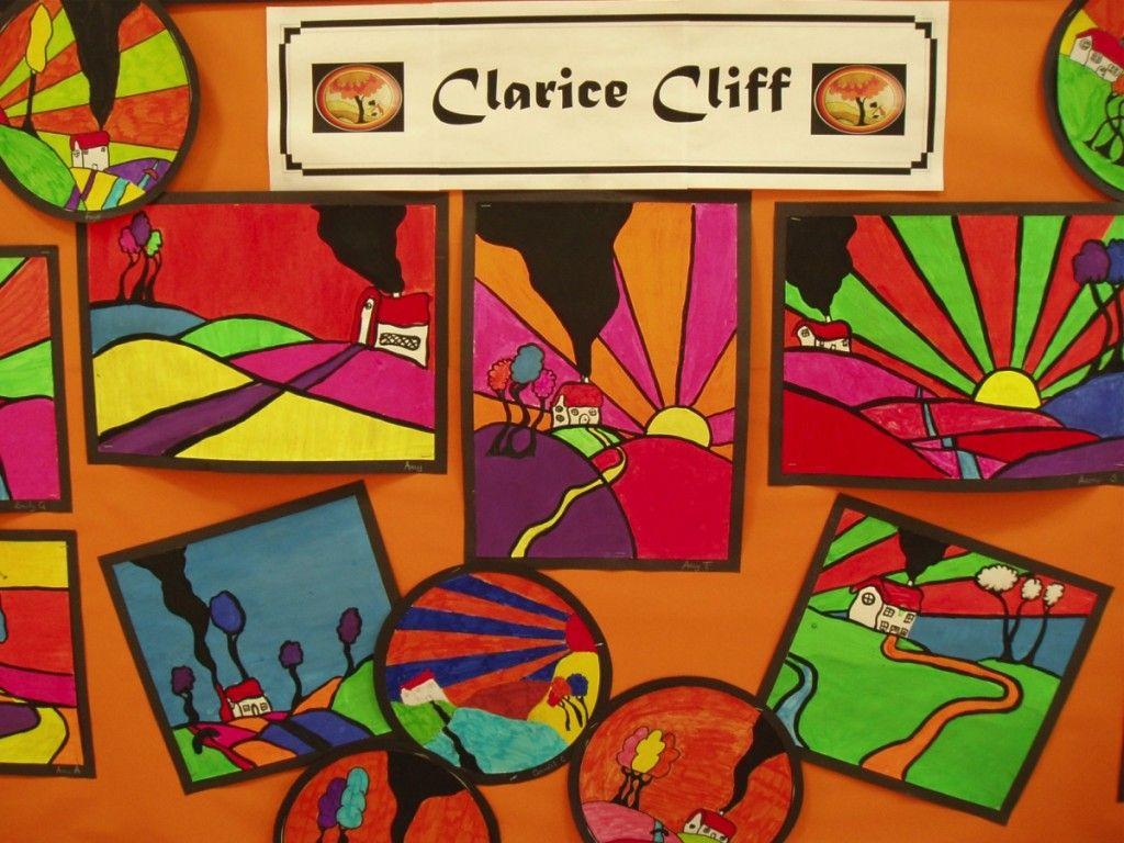 Clarice Cliff Illustrations