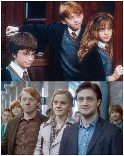 19 Years Later Actually This Is About 25 Years Later Then The Picture Above But Cute Never The Harry Potter Harry Potter World Harry Potter Universal