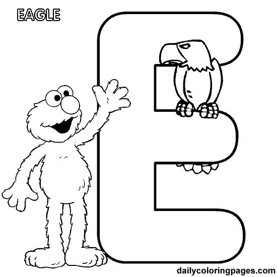 letter e worksheets for preschool | elmo alphabet letters to print ...