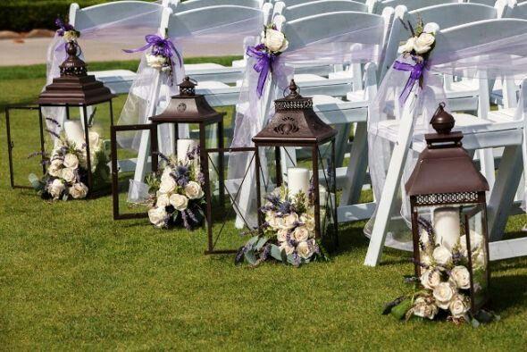 And ceremony decor