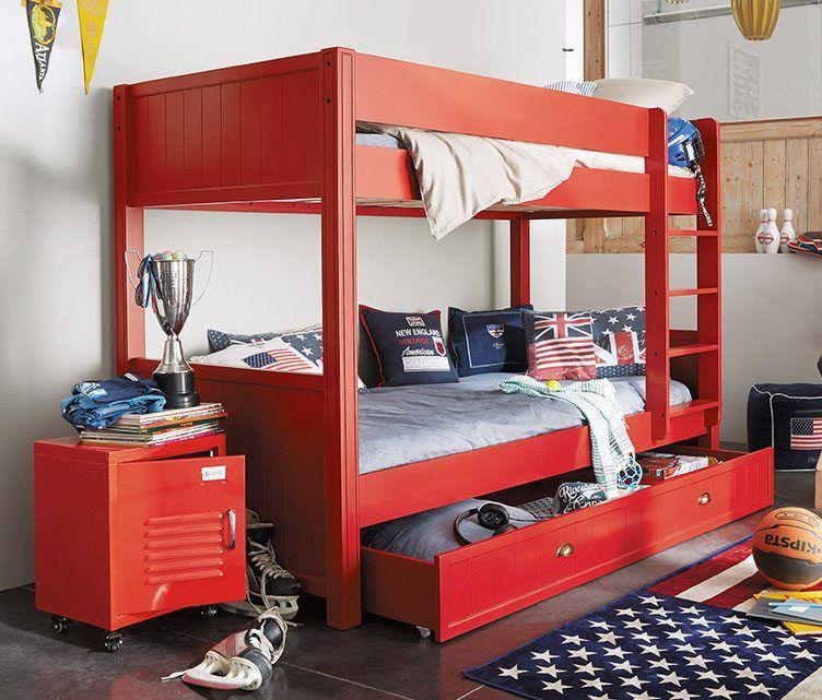 Muebles de color en habitaciones industriales | Pensata