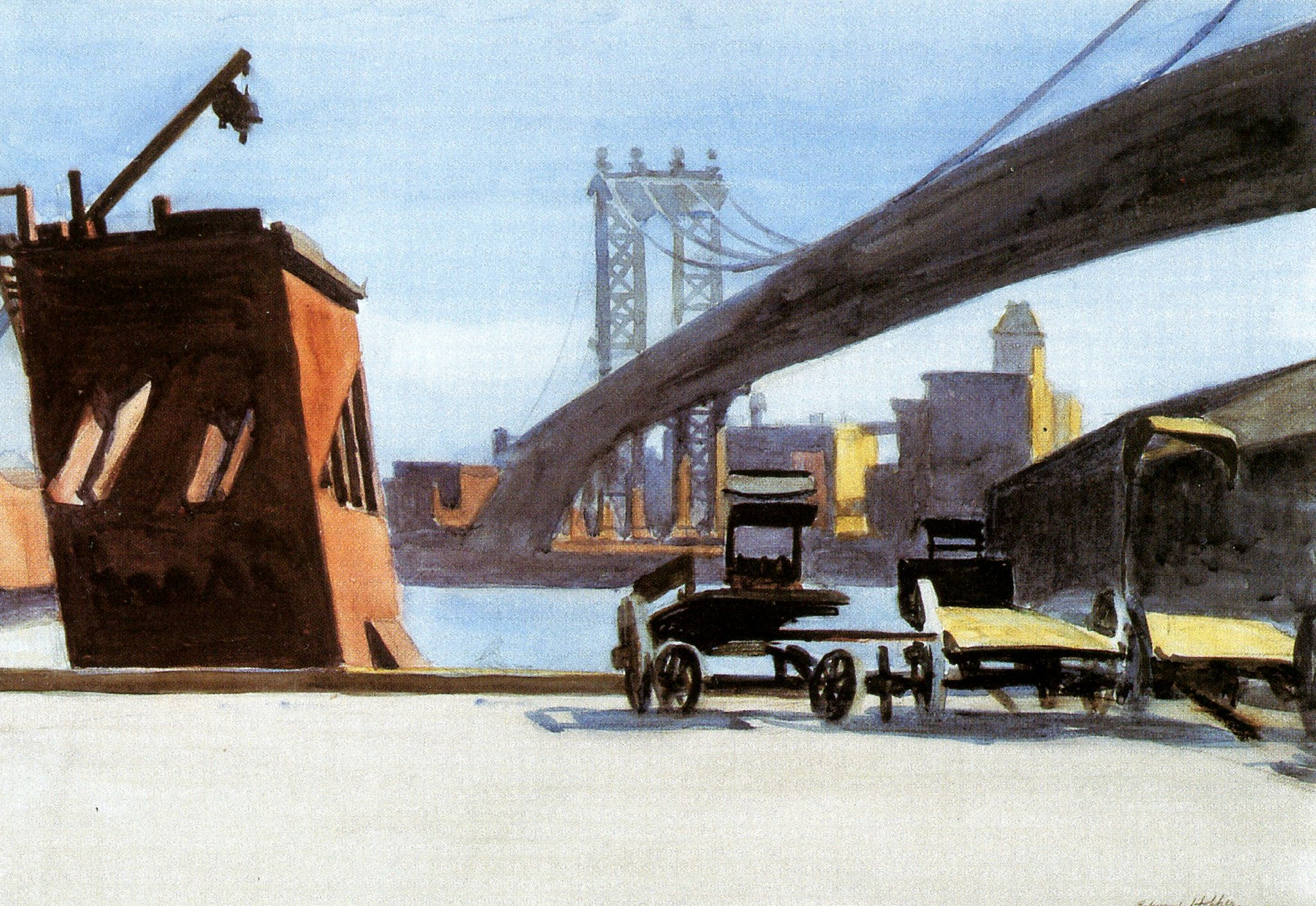 Manhattan Bridge Edward Hopper 1882-1967