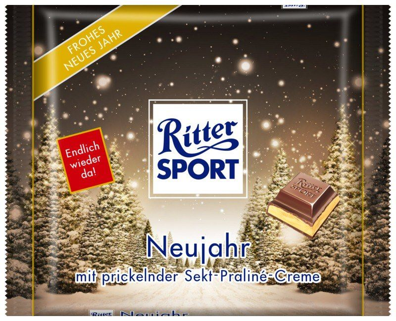 ritter sport fake schokolade neujahr bavaria germany. Black Bedroom Furniture Sets. Home Design Ideas