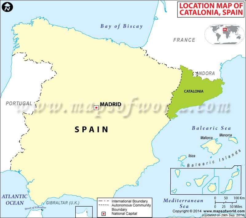 Where is Catalonia Maps Pinterest Spain