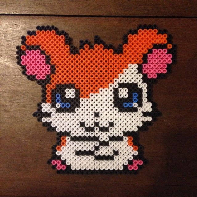 hamtaro hama beads by rozek crafts perler bead pattern pixel image s pinterest perles. Black Bedroom Furniture Sets. Home Design Ideas