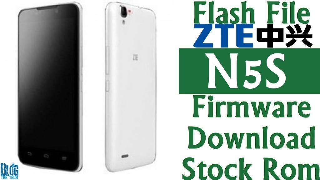 Flash File] ZTE N5S Firmware Download [Stock Rom] | Trending