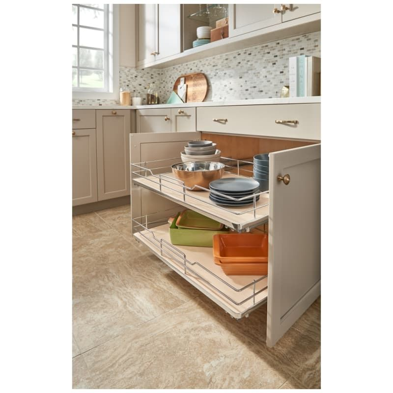Rev A Shelf 5330 33bcsc 5330 Series 36 Inch Pull Out Base Organizer With One She Maple Base Cabinet Organizers Pull Out Organizers Shelves In 2020 New Kitchen Cabinets Kitchen Remodel Rev A Shelf