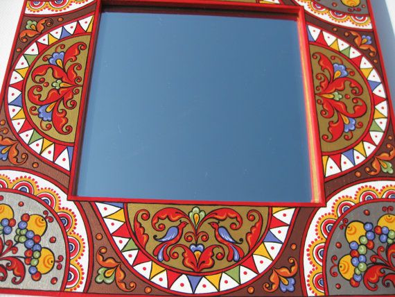 Hand Painted Mirror Frame -Picture Frame - Severodvinsk painting ...
