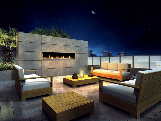 Roof -Top-Fireplace-Lounge Want to enjoy condo living at a great