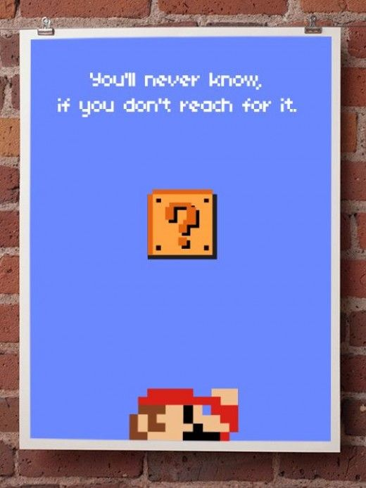 Inspirational Quotes Mario quotes, Gamer quotes, Video