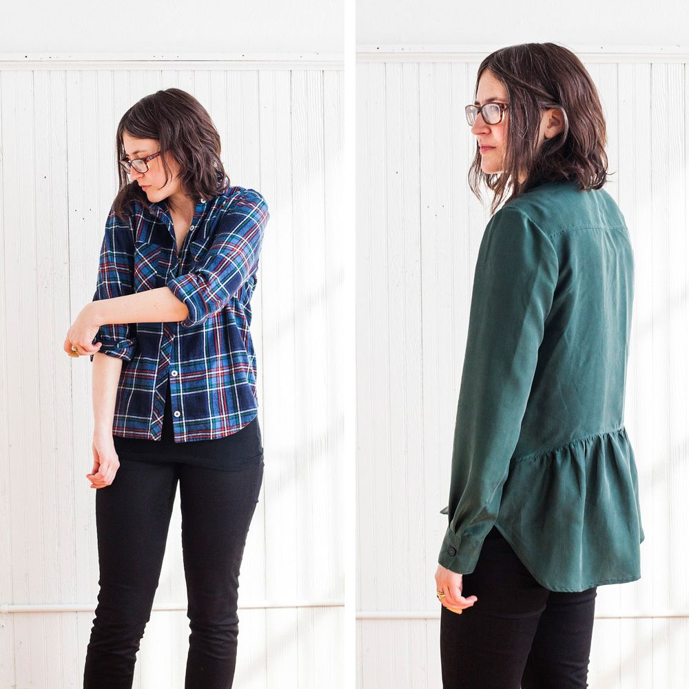 how to sew a shirt button