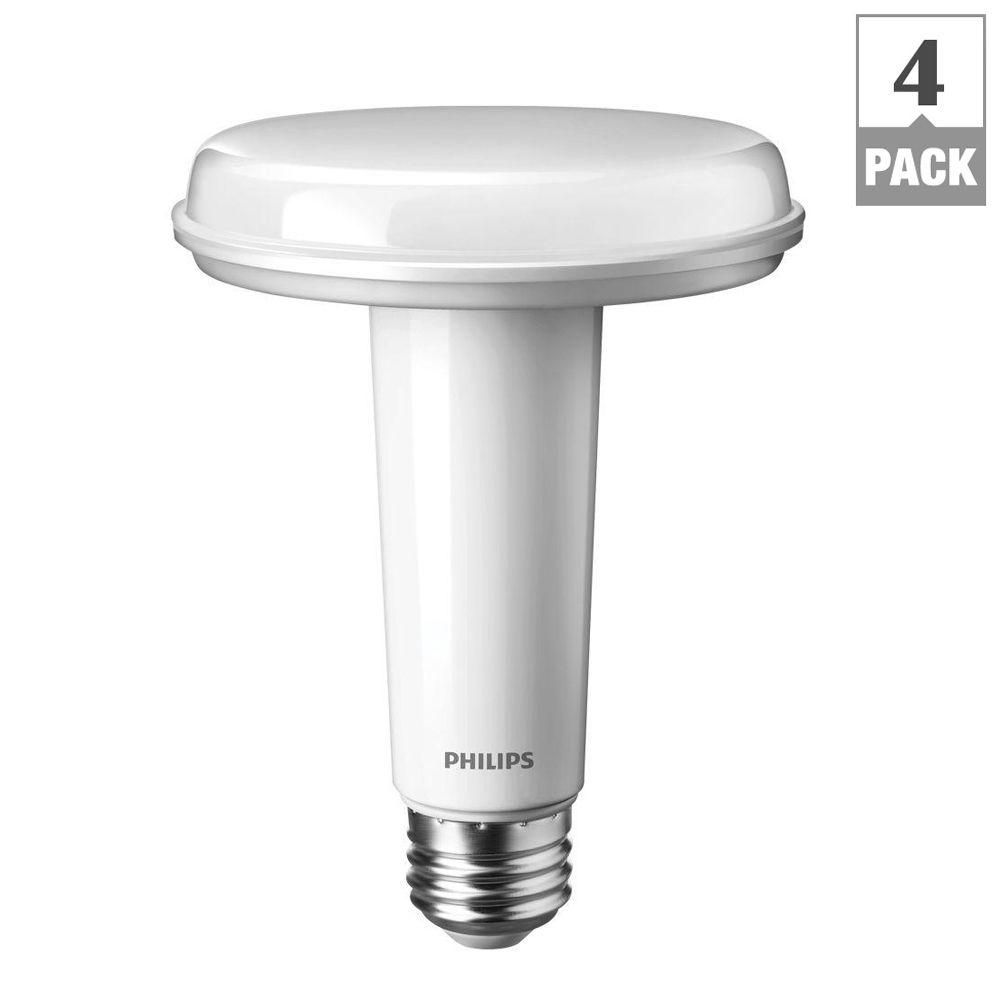 Philips SlimStyle 65W Equivalent Soft White (2700K) BR30 Dimmable ...
