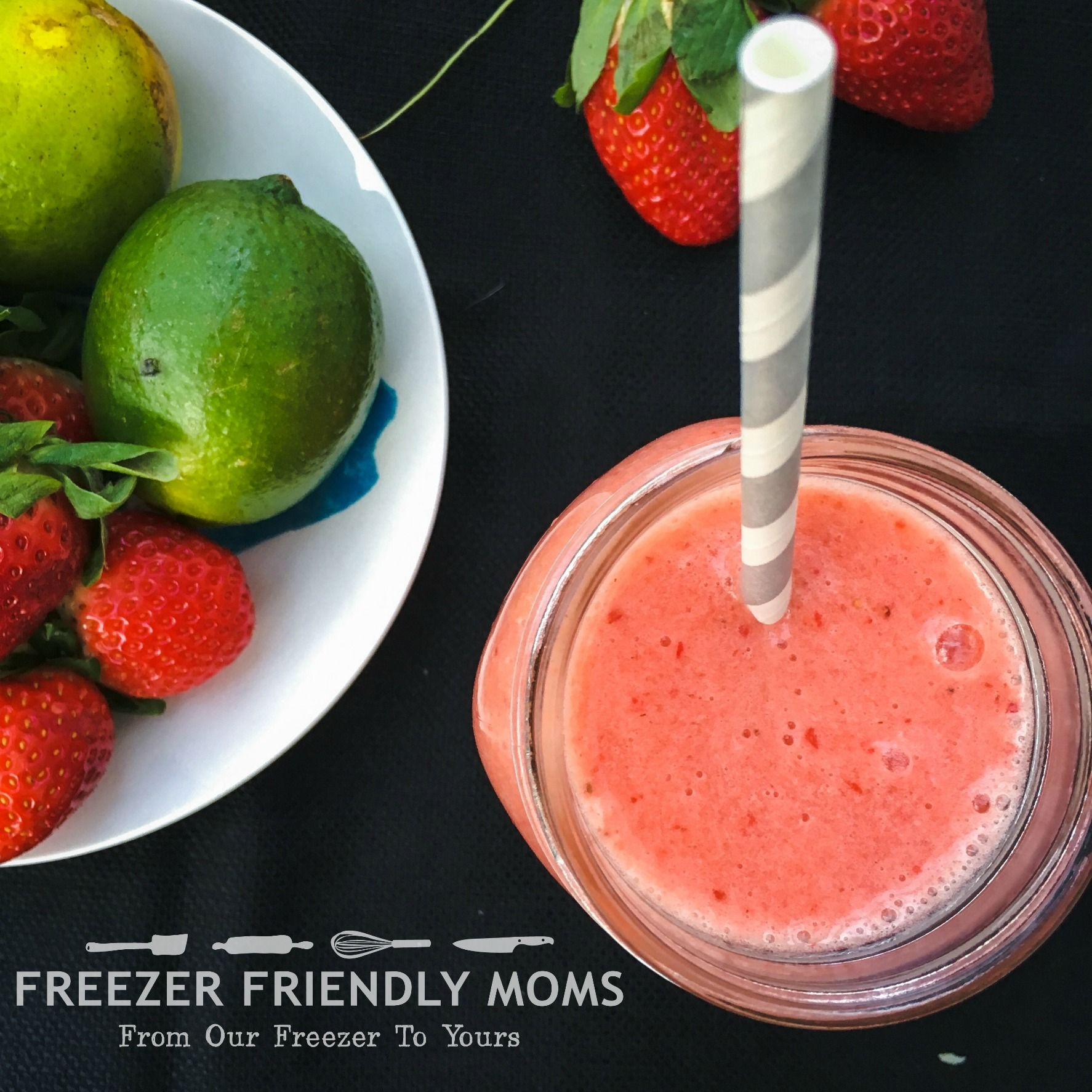 This fruity, tropical and healthy smoothie will have you feeling like you're on vacation!