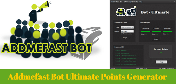 Addmefast Bot Ultimate Points Generator Generation Gaming Tips Tool Hacks