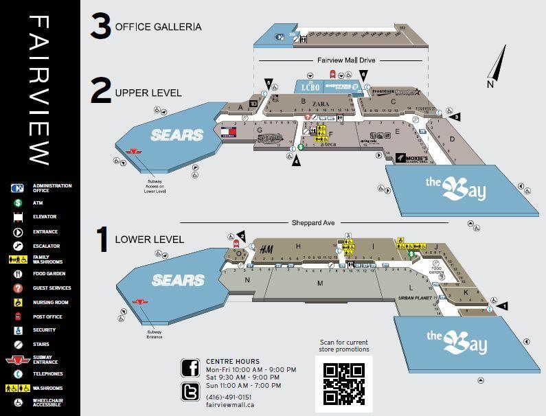 Fairview Mall Shopping Plan