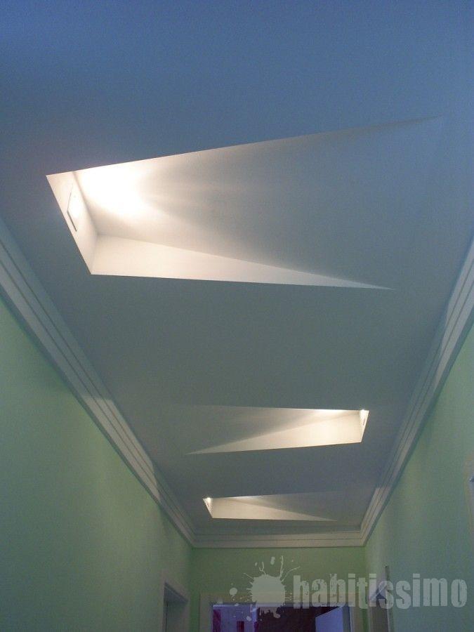 Lampada na sanca pesquisa google gesso pinterest for False ceiling lighting ideas