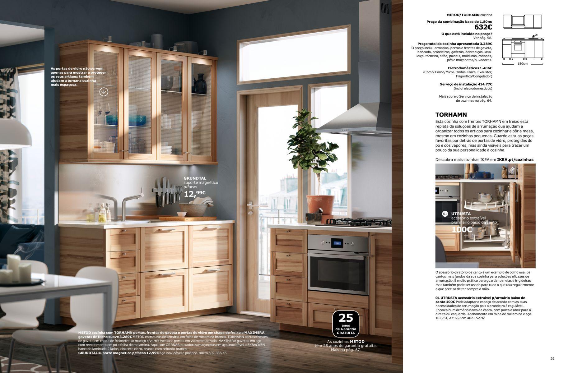 Armadi Ikea 2018 brochura cozinhas ikea 2018 | ikea keuken, keukens, ikea